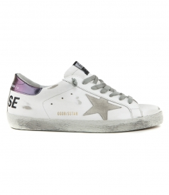 SHOES - PRINTED SUPERSTAR SNEAKERS