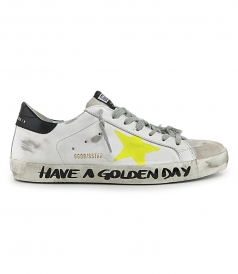 GOLDEN GOOSE  - SIGNATURTE SUPERSTAR SNEAKERS