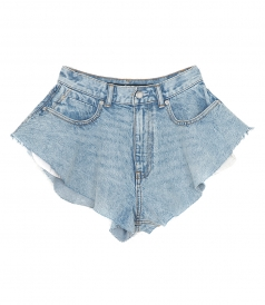 RUNWAY RUFFLED SHORTS