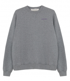 GOLDEN GOOSE  - GREY GOLDEN SWEATSHIRT