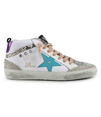 GOLDEN GOOSE  - MID STAR SNEAKERS