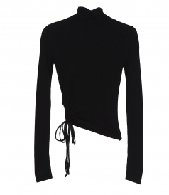 CLOTHES - RUCHED WOOL TURTLENECK