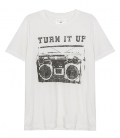 CLOTHES - TURN IT UP CREW TEE
