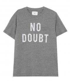 CLOTHES - NO DOUBT POCKET CREW TEE