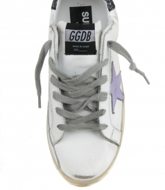 COCOO GLITTER SUPERSTAR SNEAKERS