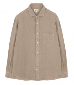 CLOTHES - LINEN PAUL PAT REGULAR SHIRT
