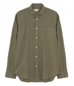 CLOTHES - COTTON VOILE PAUL PAT BEACH  REGULAR SHIRT