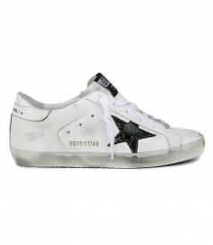 SHOES - GREEN COCCO STAR SUPERSTAR SNEAKERS