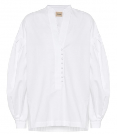 SHIRTS - PALMA COTTON POPLIN SHIRT