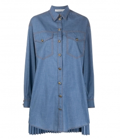CLOTHES - DENIM SHIRT DRESS