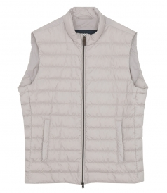 CLOTHES - PADDED ZIP-UP VEST