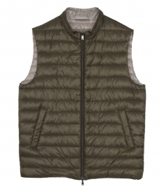 CLOTHES - REVERSIBLE PUFFA VEST