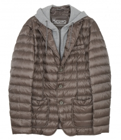 CLOTHES - PADDED HOODED JACKET
