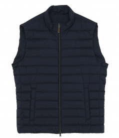 HERNO - PADDED ZIP-UP VEST