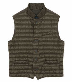 CLOTHES - PADDED SLEEVELESS JACKET