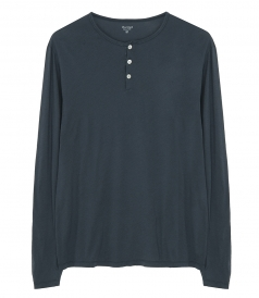 CLOTHES - LIGHT HENLEY T-SHIRT