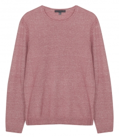 CLOTHES - CASHMERE - LINEN CREWNECK SWEATER