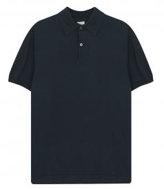 LIGHT COTTON KNIT  POLO SS