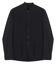 CLOTHES - WATERPROOF SINGLE-BREASTED JACKET