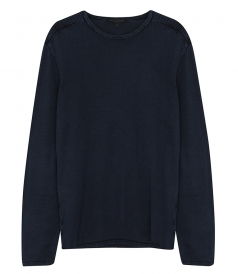 JOHN VARVATOS STAR - ACID WASH CREW NECK