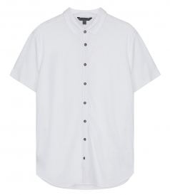 JOHN VARVATOS - SHORT SLEEVE BUTTON SHIRT