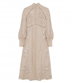 JUST IN - SUPER EIGHT EMBROIDERED MIDI