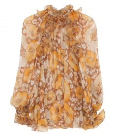 JUST IN - SUPER EIGHT RUFFLED BLOUSE