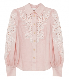 SHIRTS - FREJA EMBROIDERED SHIRT