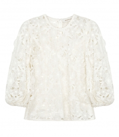 SUPER EIGHT LIFT OFF BLOUSE
