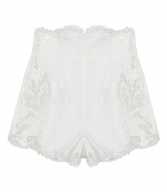 SHORTS - SUPER EIGHT EMBROIDERED SHORT