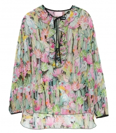 CLOTHES - PRINTED BLOUSE
