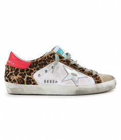 GOLDEN GOOSE  - PEARL SUEDE SUPERSTAR SNEAKERS