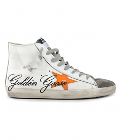 SHOES - ORANGE STAR FRANCY SNEAKERS