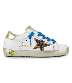 SHOES - PONY LEO STAR SUPERSTAR SNEAKERS