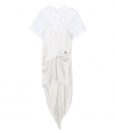 CLOTHES - HYBRID T-SHIRT SLIP DRESS