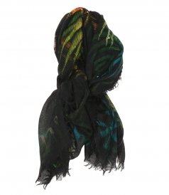 SCARVES - JUNGLE MONKEY PASHMINA