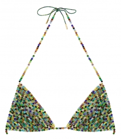 CLOTHES - MULTICOLOR BEADS BRA