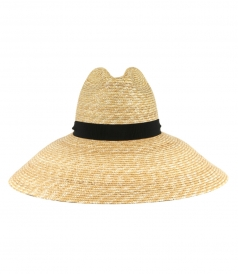 JUST IN - CROWN STRAW HAT