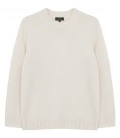 THEORY - RELAXED CREWNECK SWEATER IN CASHMERE