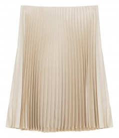 THEORY - SHORT PLEATED SKIRT