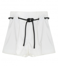 SHORTS - ORIGAMI-PLEATED SHORT