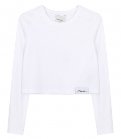 JUST IN - LONG SLEEVE LOGO T-SHIRT