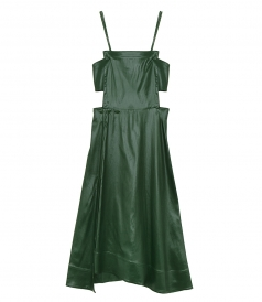CLOTHES - LACQUERED CUTOUT DRESS