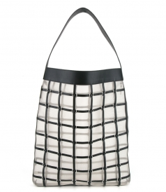BAGS - BILLIE LARGE TWISTED CAGE TOTE