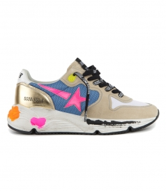 GOLDEN GOOSE  - RUNNING SOLE SNEAKERS
