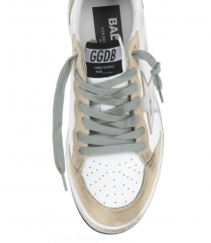 PEARL SUEDE BALL STAR SNEAKERS