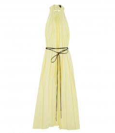 ELLERY - THE GREAT HALTER PLEATED DRESS