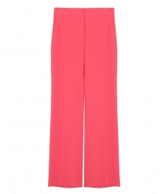 SEE BY CHLOE - HIGH-WAISTED FLARED TROUSERS