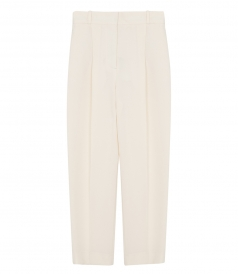 SEE BY CHLOE - HIGH-RISE CROPPED TROUSERS