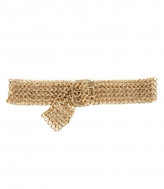 ACCESSORIES - GOLD CHAIN BELT